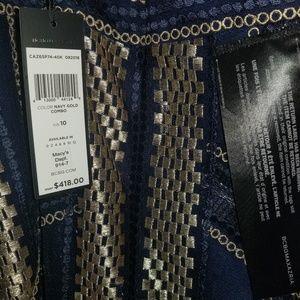95283b1b60ed BCBGMaxAzria Dresses - BCBGMAXAZRIA Metallic Striped Handkerchief Dress